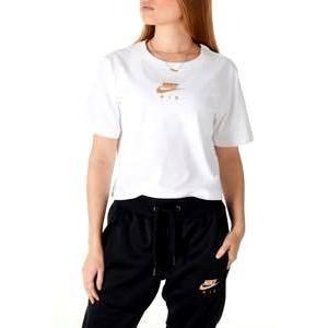 ナイキ レディース/ウーマン Nike Air Short Sleeve Crop T-Shirt クロップド Tシャツ 半袖 White/Rose Gold troishomme