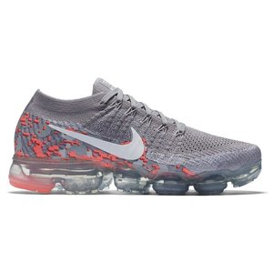 d8449b14420fa Nike Air VaporMax Flyknit Running Shoes レディース Atmosphere Grey White White Hot  Punch ...