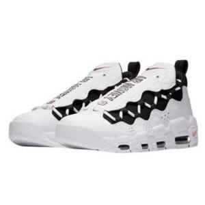 ナイキ メンズ スニーカー Nike Air More Money エア モアマネー White/Black/Coral Chalk/White|troishomme