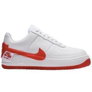 ナイキ レディース スニーカー Nike Air Force 1 Jester エアフォース 1 ジェスター White/University Red|troishomme
