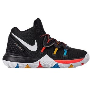 ナイキ キッズ/ジュニア カイリー5 バッシュ Nike Kyrie 5 IV Preschool PS ミニバス Black/White/Bright Crimson|troishomme