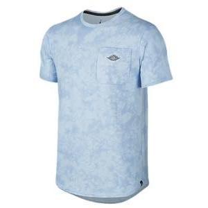 即納 ジョーダン メンズ Jordan Fadeaway 23 True Top Tシャツ 半袖 Ice Blue/White troishomme