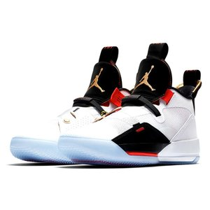 "ジョーダン メンズ Jordan XXXIII 33 ""Future Flight"" バッシュ White/Metallic Gold/Black/Vast Grey ナイキ NIKE