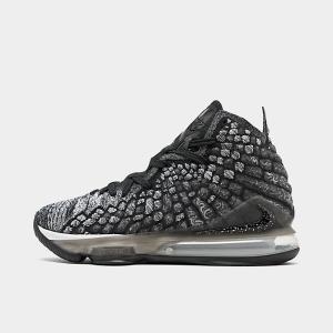 ナイキ メンズ レブロン17 Nike LeBron 17 バッシュ Black/Black/Whi...