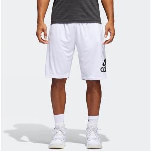 アディダス メンズ ADIDAS CRAZYLIGHT Shorts バスパン White/Black トレーニングパンツ ショーツ|troishomme