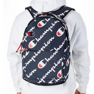チャンピオン Champion Advocate Logo Backpack バックパック リュックサック Navy|troishomme