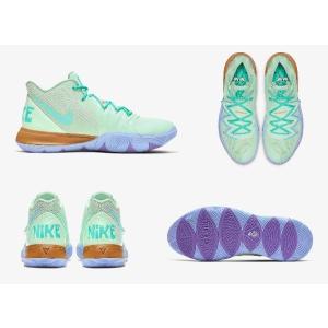 ナイキ メンズ カイリー5 スポンジボブ Nike Kyrie 5 IV バッシュ Spongebob
