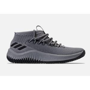 アディダス メンズ デイム4 adidas Dame 4 バッシュ Grey/Black/Grey デイミアンリラード|troishomme