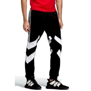 アディダス メンズ ADIDAS PALMESTON TRACK PANTS トレーニングパンツ BLACK/WHITE ジャージ|troishomme