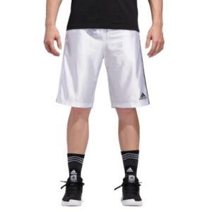 アディダス メンズ adidas New Basic 4 Shorts バスパン ショーツ ハーフパンツ White|troishomme