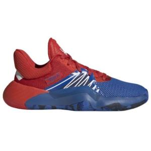 アディダス キッズ/レディース adidas D.O.N. Issue 1 GS バッシュ Blue/Red/White ドノバン ミッチェル|troishomme