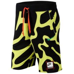 ナイキ メンズ ショーツ Nike Retro Future Shorts ハーフパンツ 半ズボン Volt|troishomme