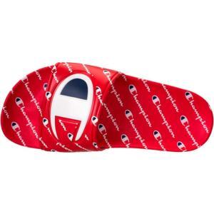 チャンピオン ボーイズ/キッズ/レディース サンダル Champion IPO Repeat Slide Sandals スリッパ|troishomme|02