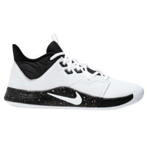 ナイキ キッズ/レディース Nike PG 3 GS バッシュ ポール・ジョージ ミニバス White/Black|troishomme