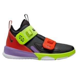 ナイキ キッズ/レディース レブロン ソルジャー13 Nike LeBron Soldier XIII バッシュ Black/White/University Red troishomme