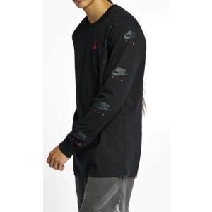 ジョーダン メンズ ロンT Jordan Retro 6 Long Sleeve T-Shirt Tシャツ 長袖 Black|troishomme