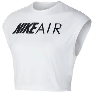 ナイキ レディース クロップ トップス Nike Air Crop Top Tシャツ White troishomme