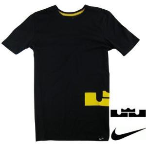 即納 ナイキ メンズ Nike Lebron T-Shirt Tシャツ 半袖 Black/Yellow レブロン troishomme
