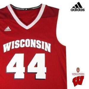 adidas タンクトップ WISCONSIN UNIVERSITY Red メンズ アディダス NCAA BASKETBALL セットアップ 0905 troishomme