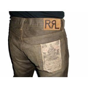 DOUBLE RL Ralph Lauren SLIM BOOTCUTデニム RRLメンズジーンズ ラルフローレンダブルアールエル troishomme