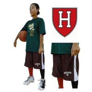 バスパン ハーバード大学 Burgundy/White ミニバス basketball college NCAA カレッジバスケットボールプラクティスパンツ 0905 troishomme