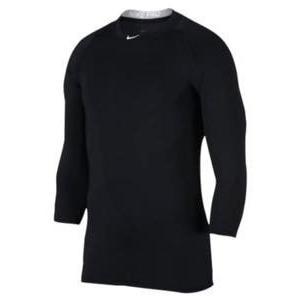 即納 ナイキ キッズ Nike Pro Cool 3/4 Baseball Top ベースボールシャツ Black アンダー|troishomme