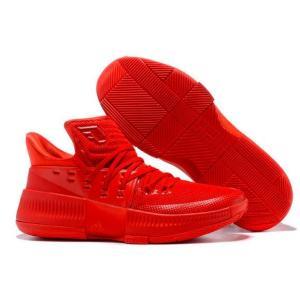 adidas アディダス バッシュ D Lillard 3  メンズ Scarlet Red Damian Lillard ダミアン・リラード|troishomme