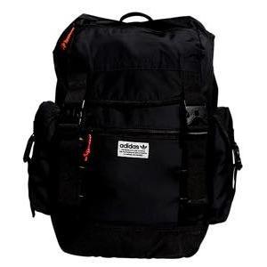 即納 アディダス オリジナルス ユニセックス adidas Originals Urban Utility Backpack バックパック Black/Solargold/Red リュックサック バッグ troishomme