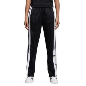 即納 アディダス レディース パンツ adidas Originals Adicolor Adibreak Snap Pants スウェット ロングパンツ Black troishomme