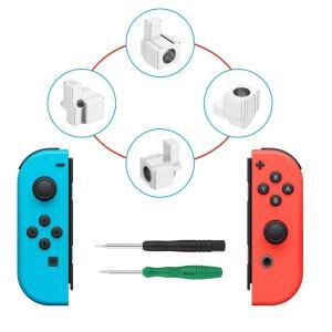 Nintendo Switch Joy-Con交換部品 ジョイコン 尾錠 修理パーツ 合金材質