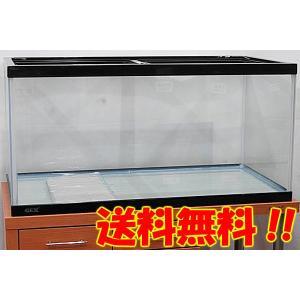 送料無料 GEX マリーナ900 90cmガラス水槽 ガラスフタ2枚付き 到着日時指定不可 北海道・...