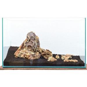 カミハタ アクアリウムロック レイアウトセット 気孔石 45〜75cm水槽用・天然石セット 【水槽との同梱は不可】