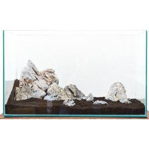 カミハタ アクアリウムロック レイアウトセット 青華石 45〜75cm水槽用・天然石セット 【水槽との同梱は不可】