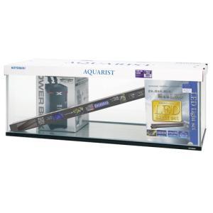 120cmガラス水槽と外部フィルター、LEDライト、専用ガラスフタのお買い得セットです。