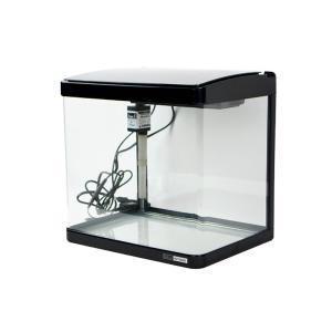水槽、LEDライト、上部式フィルターがセットになった簡単オールインワン水槽です。