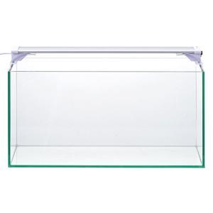 幅45cmスーパークリアガラス採用・フレームレス水槽と水景を美しく輝かせるスーパークリアLEDライト...