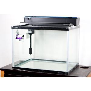 送料無料 ニッソー 60x45x45cmガラス水槽・NS−7M 上部フィルター+LEDライト付4点セ...