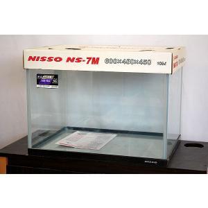 送料無料 ニッソー 60x45x45cmガラス水槽 NS−7M 北海道・沖縄・離島、別途送料|tropicalworld|02