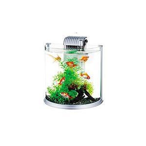 インテリア性の高い、半月型のガラス水槽セットです。 日本で一番使われている外掛け式フィルター「テトラ...
