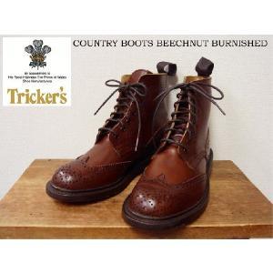 【送料無料】Tricker's(トリッカーズ)レースアップショートブーツ カントリー COUNTRY BOOTS BEECHNUT BURNISHED trova