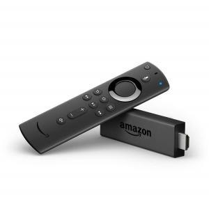 人気のFire TV Stickに新登場のAlexa対応音声認識リモコンが付属。テレビの電源・音量操...