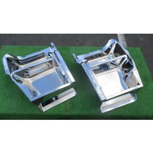 いすゞ ギガ メッキ ステップ L/Rセット 左右 海外仕様 中国 ISUZU GIGA 未使用 アウトレット品 truckparts