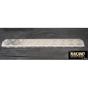 ◆条件付き送料無料◆バンパーステップ L型600mm R/L 足掛けなどに アルミ シマ板 滑り止め|truckshop-nakano
