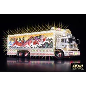 最後の1台!プレミアム!新品・未使用!掘り出し物 1/32RCトラック野郎 望郷一番星|truckshop-nakano