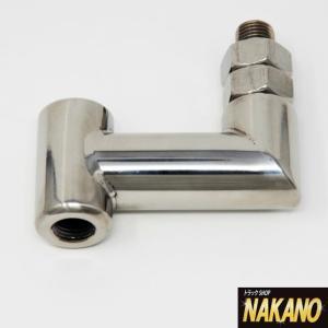【キャッシュレス5%還元】横出しEX L型 55mm エクステンション シフトノブを真横に移動しハンドルを回避|truckshop-nakano