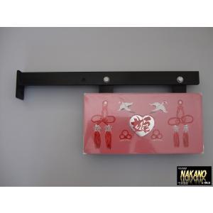 名刺板&取付ステー 【ハート 姫 (8)】 中型用 運転席側 筆書きプレート 縁起物 truckshop-nakano
