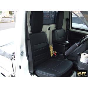 ◆条件付き送料無料◆軽トラ用シートカバー NEW リミックス シートカバー R/Lセット サンバー/ハイゼットS500・S200系キャリーKC/KX系 専用シートカバー|truckshop-nakano
