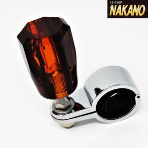 【キャッシュレス5%還元】飴色に輝く シックな琥珀調 ハンドルスピンナー 長距離運転 ハンドルの操作が楽|truckshop-nakano