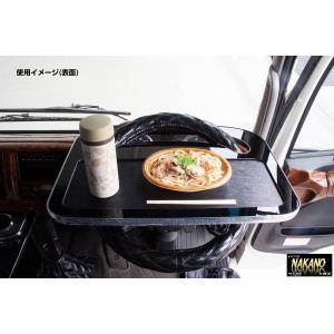 防災備蓄用 ハンドルテーブル 車内で食卓&ワークテーブルが実現|truckshop-nakano
