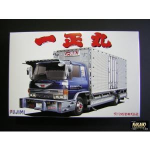 プレミアム商品 フジミ NO5 一正丸 日野4トン箱車 1/32 デコトラプラモデル|truckshop-nakano